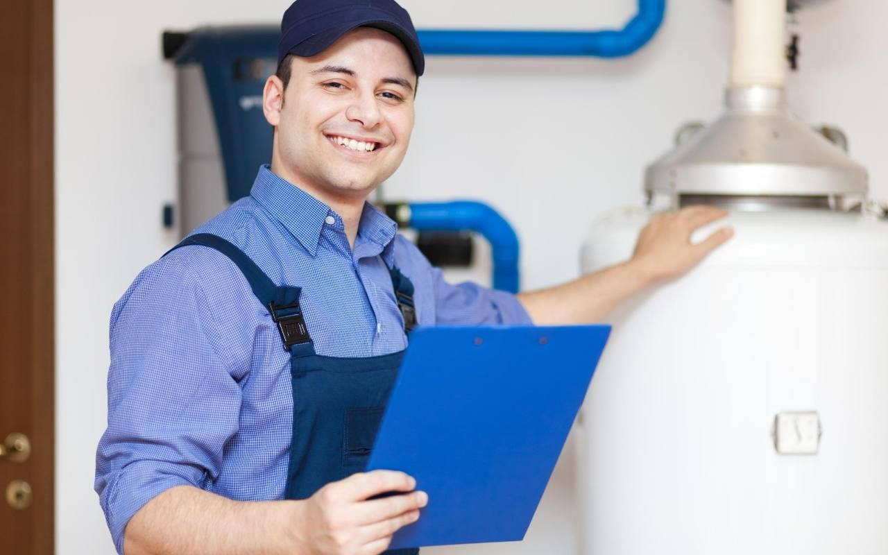 Flush out your water heater