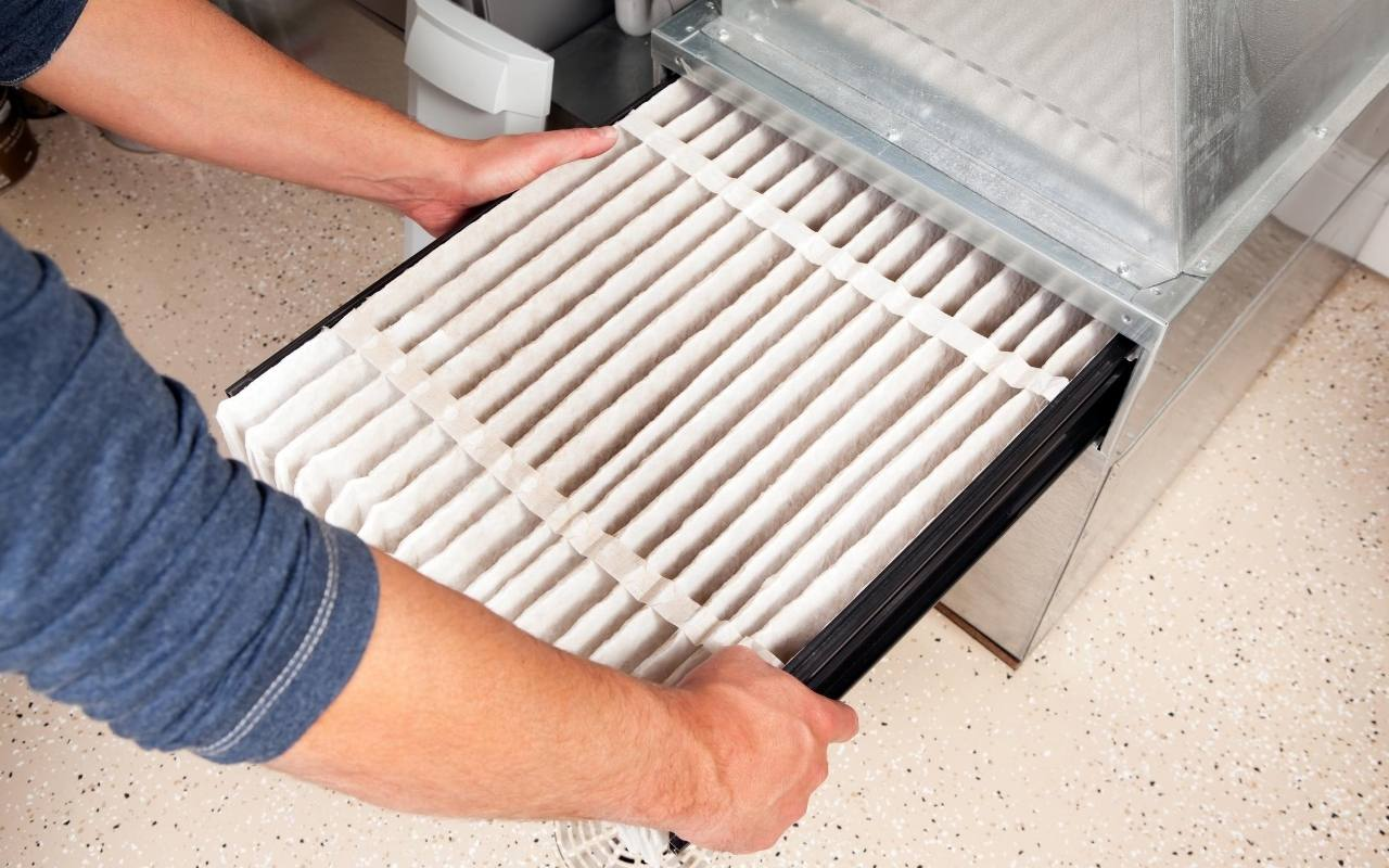 Change furnace air filters